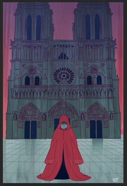 Marlow Cover (Crimson Magus) - Tríona Tree Farrell