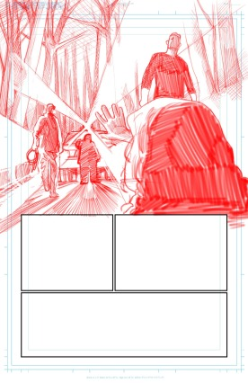 Page 1 Pencilling Panel 1 (2)