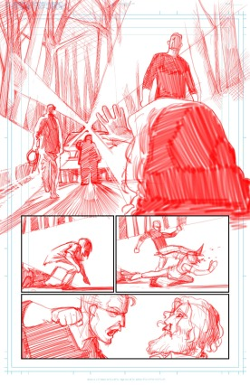 Page 1 Pencilling Full Page